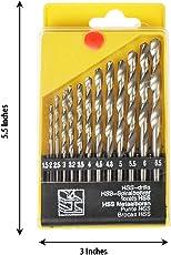 13PCS 1.5 TO 6.5MM HSS HIGH SPEED STEEL DRILL BIT SET
