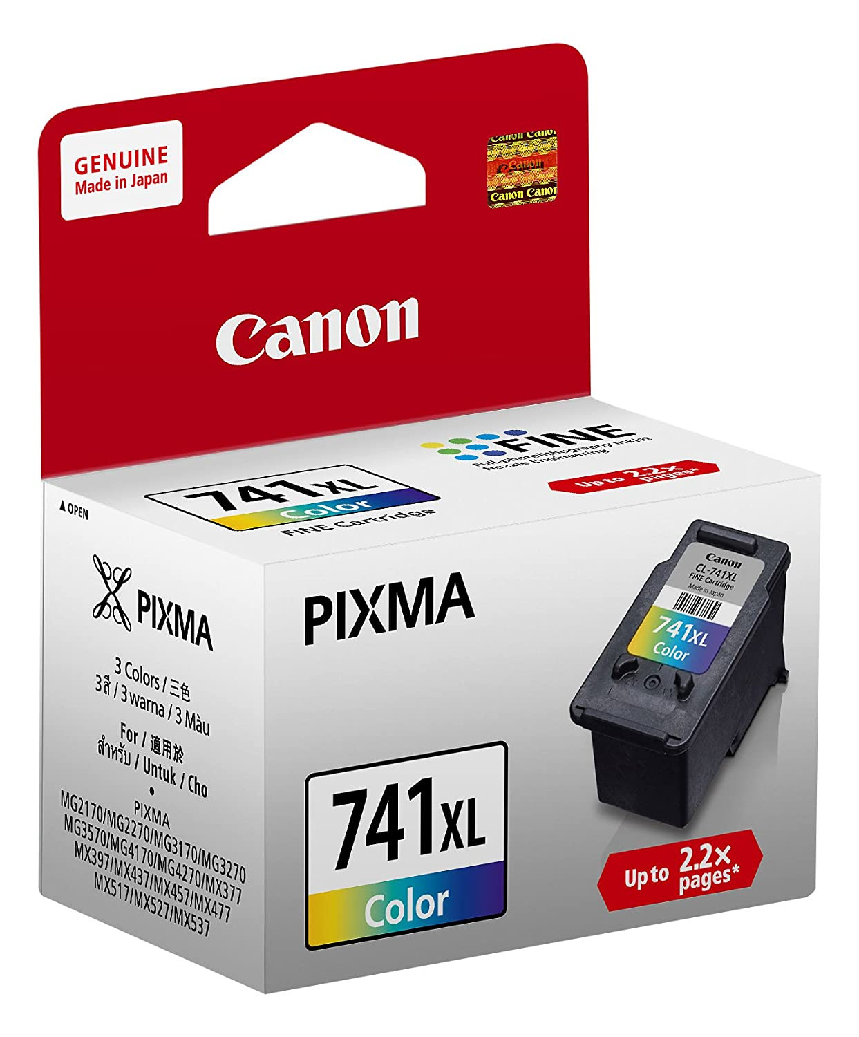 Color printouts in hyderabad - Canon Cl 741 Inkjet Cartridge Color Amazon In Computers Accessories