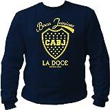 pro-Camicia Boca Juniors Ultras Ultra Diego Maradona Club di Calcio Hooligan Blu Maglione Sweatshirt