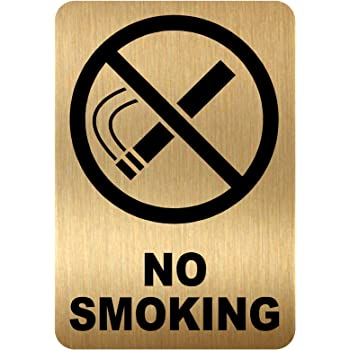 No Smoking Sign Decal Vinyl Sticker Window Shops Pubs Hotels Cafes Offices Bars