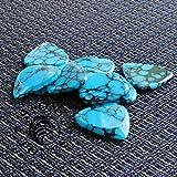 Timber Tones Stone Tones Plectre à motif écailles de dragon Bleu