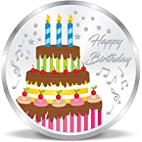 ACPL Precious Moments Colorful Happy Birthday 999 Pure Silver Coin