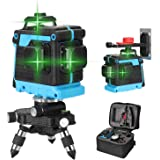 Anself Multifunctional 12 Lines Laser Level Tool Vertical Horizontal Crosslight with Self-leveling Function