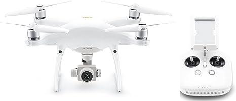 DJI Phantom 4 Pro V2.0 - Drone Quadricoptère avec Caméra 4K - Offre 30-Min de Vol - Photos et Vidéos HD - Design Élégant - 5 Capteurs Optiques