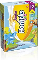 Junior Horlicks Stage 2 (4-6 years) Health & Nutrition drink - 500 g Refill pack (Original flavor)