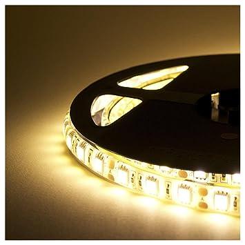 Striscia LED Resistente all\'acqua - 5 Metri - 72W - SMD5050 BIANCO ...