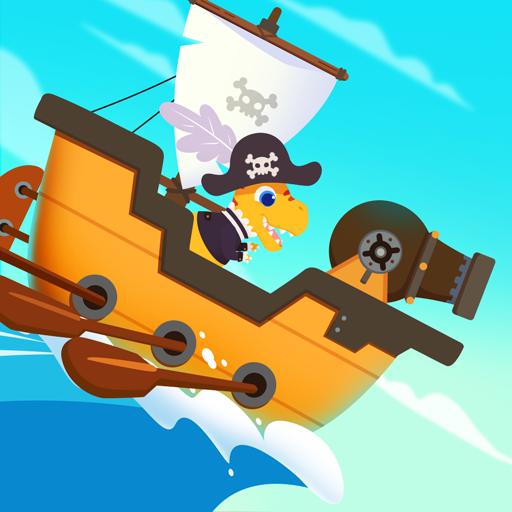 Dinosaur Pirates - Pirate Ship Adventure Games for kids & toddler