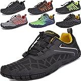 JACKSHIBO Unisex Minimalistische Trailrunning Barefoot Schoenen Heren Dames Lichtgewicht Sportschoenen voor Sportschool Fitne