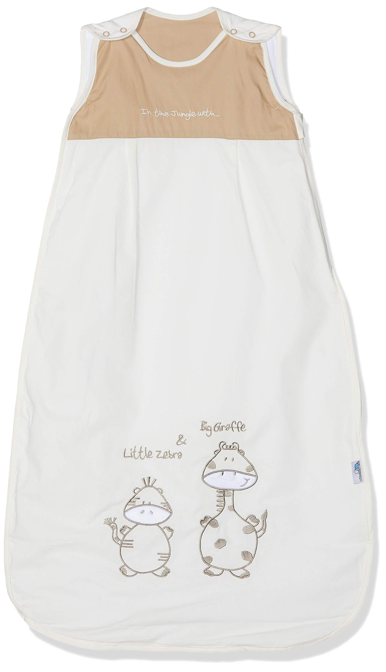 Schlummersack – Saco de dormir para niños (verano, 0,5 tog, 130 cm, 3-6 años), diseño de jirafa