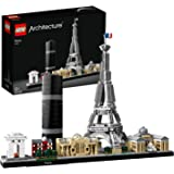 LEGO 21044 Architecture Paris Model Building Set with Eiffel Tower and The Louvre, Skyline Collection, Construction Collectib