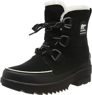 Schuhe Stiefel SOREL EXPLORER JOAN Stiefel 2019 quarry//black Winterschuhe