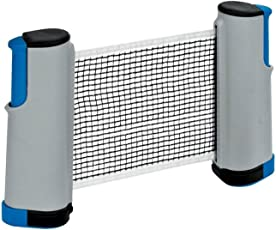 Athlero Hi-Quality and Innovative Retractable Table-Tennis Net with Adjustable Length and Push Clamps