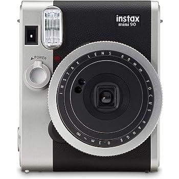 Fujifilm - Instax Mini 90 NEO Classic - Appareil Photo à Impression Instantanée - Noir