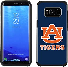 Prime Brands Group Textured Team Color Cell Phone Case for Samsung Galaxy S8 Plus - NCAA Licensed Auburn University Tigers