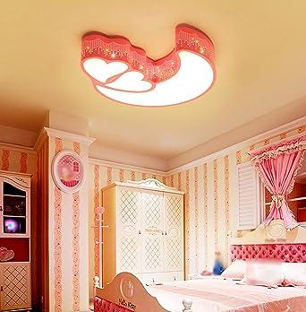 LYTSM® Kinderzimmer Deckenleuchten, Prinzessin Mädchen Junge Raum Lichter  Einfache Moderne Deckenleuchte Kreative Kindergarten Lampen Schick ( Farbe  : #6 ): ...