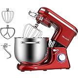 Capacità 8 liter Impastatrice Howork, 1500W Planetaria Robot da cucina per pane, pizza, dolci e pasticceria, 6 velocità con c
