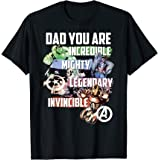 Marvel Avengers Dad You Are Incredible T-Shirt