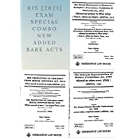 RJS [2021] Exam Special Combo New Added Bare Acts   POCSO Act, 2012   Indecent Representation of Women, 1986   Sexual…