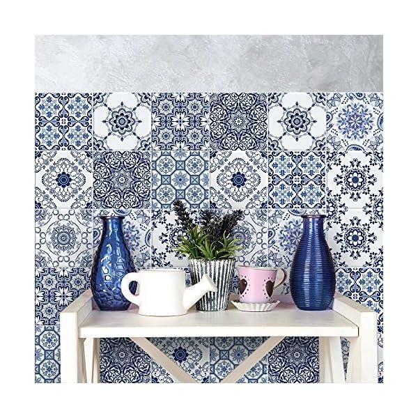 Wall art ps00015 adesivi in pvc per piastrelle per bagno e for Piastrelle in pvc adesive per cucina