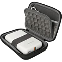 "Khanka Portable Etui de voyage Housse pour Polaroid ZIP Mobile Printer. Mesh Pocket pour Polaroid Papier photo ZINK Premium 2""x3"" - Noir"