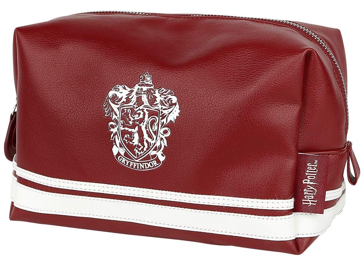 Harry Potter Gryffindor Bolsa cosméticos rojo-blanco