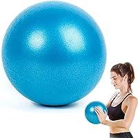 WELLXUNK® Yoga Fitness Ball, 25cm Morbida Pilates Palla, Antiscivolo Esercizio Ball, Anti Burst Yoga Palla, Palla…