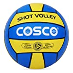 Cosco Sport Shot Volleyball (Blue and Yellow) 4