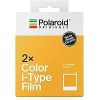 Polaroid Originals 4836 Pellicola I-Type Colori, Doppio Pacco, Cornice Bianco