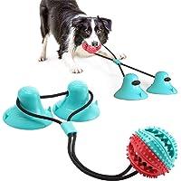 Giocattolo Per Cani Sucker, Dog Chew Toy, Gioco per cani in corda con doppia ventosa, Adatto a masticatori aggressivi e…
