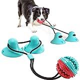 Giocattolo Per Cani Sucker, Dog Chew Toy, Gioco per cani in corda con doppia ventosa, Adatto a masticatori aggressivi e spazz