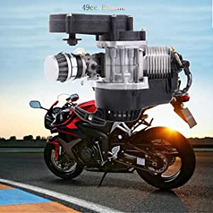 Sange 49cc 2 Takt Motor Mit Vergaser Für Motorrad Pocket Bike Mini Bike Quads Cross Bike Auto