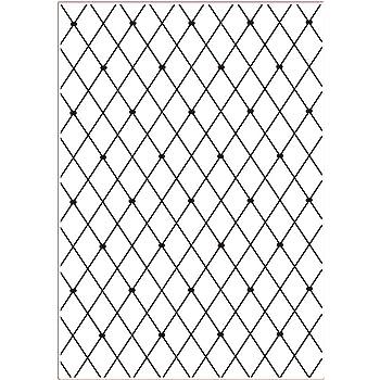 A4 transparent Couture Creations Bl/ätter gr/ö/ßer ist Besser Pr/ägeschablone