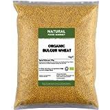 Organic Bulgur Wheat 1kg by Natural Food Market
