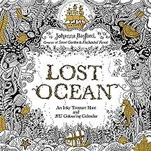 Johanna Basford Lost Ocean 2017 Wall Cal (Square Wall)