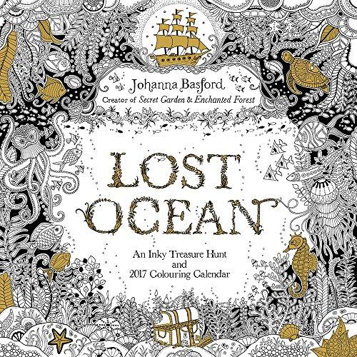 Grupo Erik Editores Johanna Basford Last Ocean - Calendario 2017, 30 x 30 cm (Square Wall)