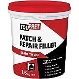 Toupret TOUFGRP15GB Klaar voor gebruik Patch & Reparatie 1.5kg Filler