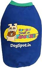 DogSpot Need A poochi Winter T-Shirt Size - 12