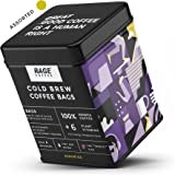 Rage Coffee Cold Brew Coffee Bags Hazelnut, Caramel, Chocolate & Orange Flavours Pack of 5x50 Gms - No Equipment Required, 25