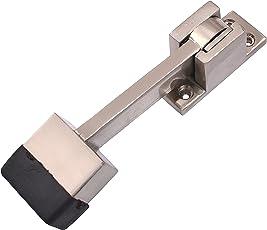 Klaxon Brass Door Stopper - KBM3 (Silver)