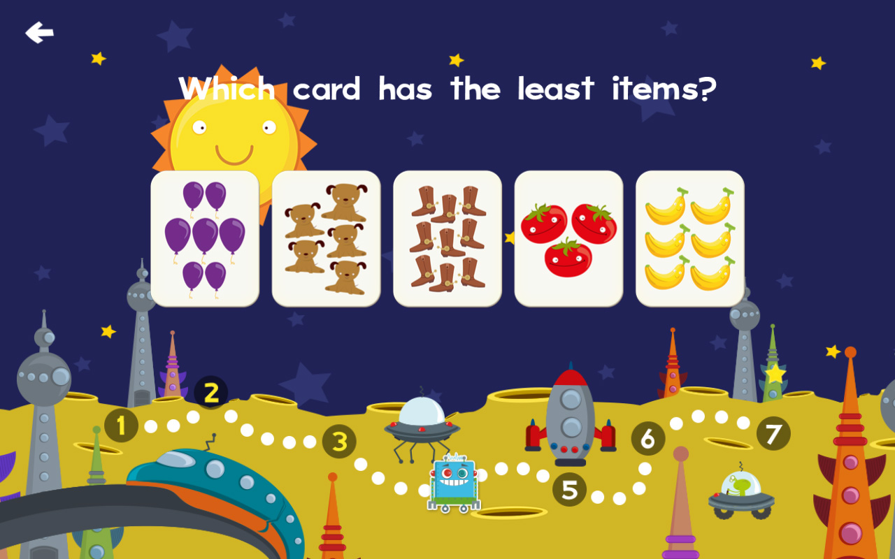 Animal Math Games for Free First Grade and Kindergarten ...