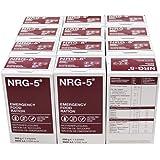 NRG-5 – Lot de 12paquets de rations de secours de 9barres chacun – 500g