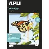 Apli Paper 11475 Papel Fotografico A4 Everyday 180GR 100H
