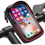 LEMEGO Fiets Telefoonhouder Waterdichte Telefoon Fietstas Stuur motorfiets Scooter Mobiele Fietshouder Bike Telefoonhouder 36
