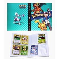 Porte Carte Pokemon, Album pour Cartes Pokemon GX, Classeur Carte Pokemon Album, Peut accueillir 120 Cartes à Unique ou…