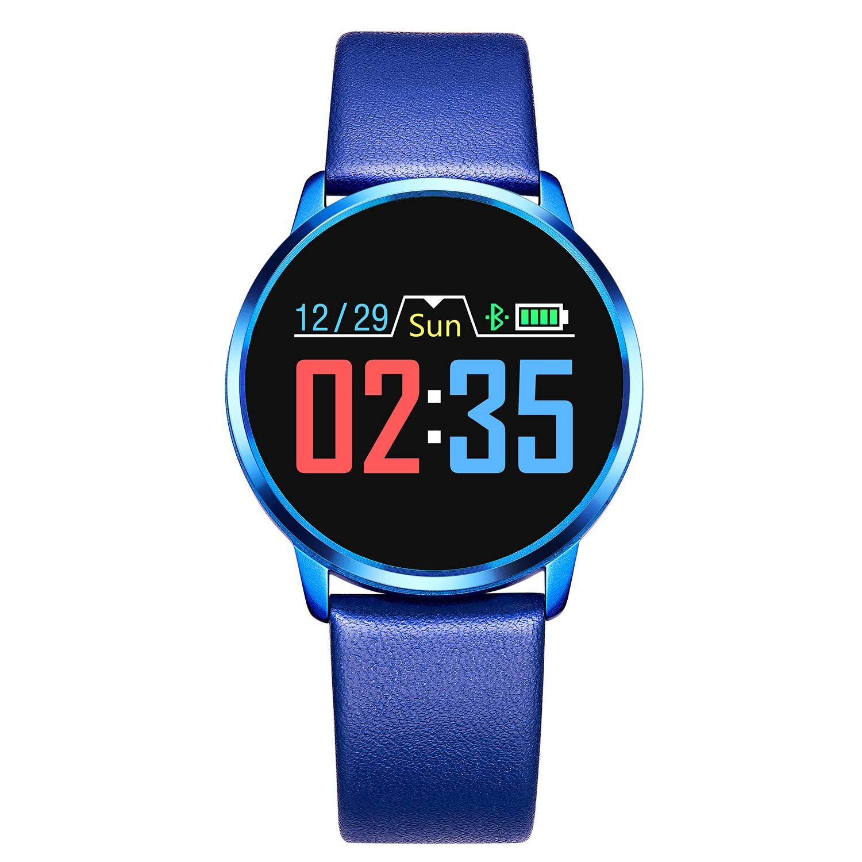 Adsvtech Smartwatch, Impermeable Reloj Inteligente Mujer Hombre, Pulsera Actividad Inteligente Reloj Deportivo Reloj… 1