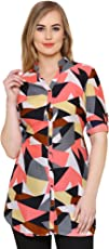 2Day Casual 3/4th Sleeve Printed Women's Multicolor Top (Pack of 1)