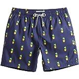 MaaMgic Pantaloncini da Bagno da Uomo Asciugatura Veloce Costume da Bagno per Surf sulla Spiaggia Multi-funzioni Allenamento