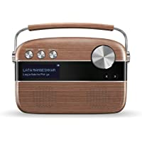 Saregama Carvaan Hindi - Portable Music Player with 5000 Preloaded Songs, FM/BT/AUX (Oak Wood Brown)