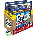 Dash All in 1 Pods Detersivo Lavatrice in Capsule, 86 Lavaggi (2 x 43), Azione Extra-Igienizzante, Maxi Formato, Rimuove le M