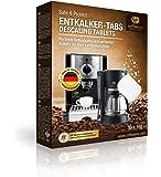 Coffeeano 20x Entkalkungstabletten XL für Kaffeevollautomaten und Kaffeemaschinen. Entkalkungs-Tabs kompatibel mit Jura…